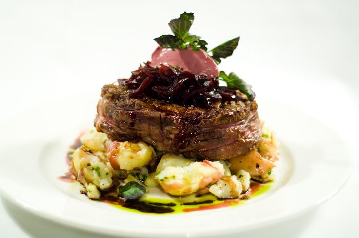 Grilled filet still tends to be the most popular wedding entree' choice.