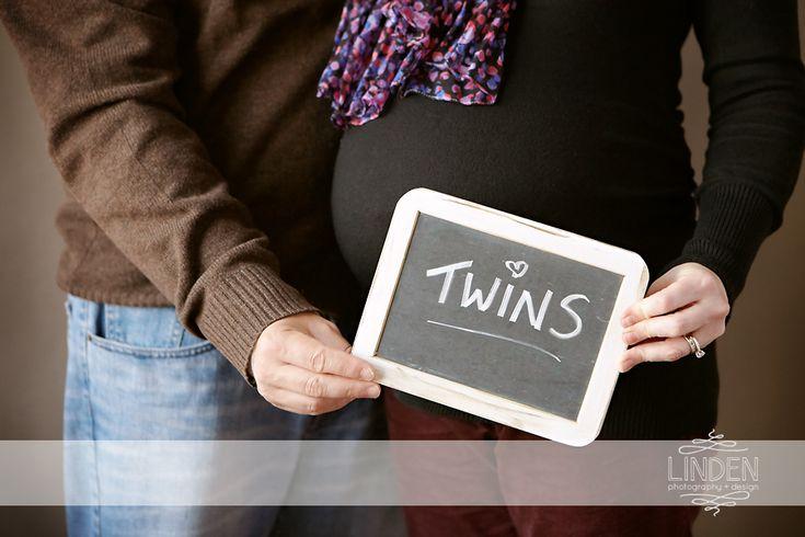 Twins | Maternity Photography | Pregnancy Photos | Prenatal Portrait | Linden Photography + Design