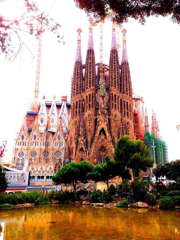 158 best beautiful places of barcelona images on pinterest for La sagrada familia spain
