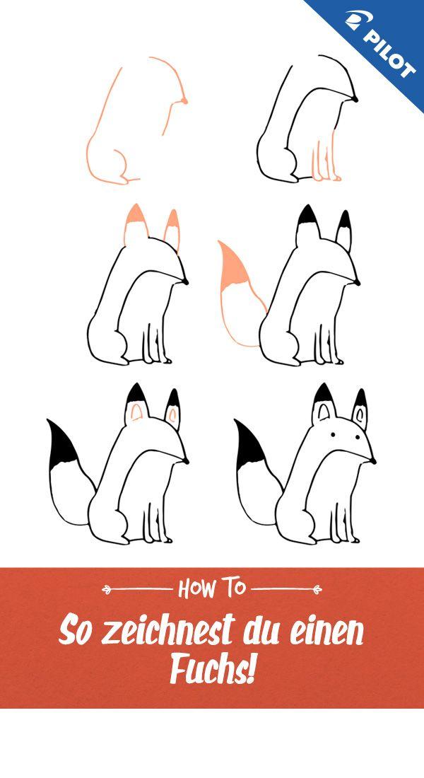 Pin Von Emma Auf Bullet Journal Fuchs Zeichnung Fuchs Zeichnen Zeichnen Lernen Fur Kinder