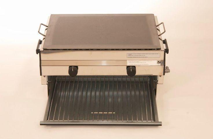Mod. F2 Barbecue in acciaio inox Douplex  GA Srl