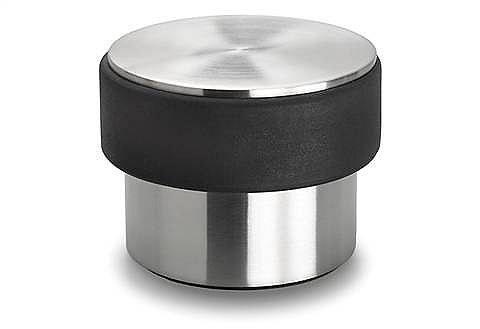 Stop Eleganter Türstopper. Durchmesser 9 cm, Höhe 7 cm, 2 kg für schwere Türen geeignet....