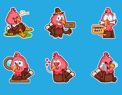 "Check out new work on my @Behance portfolio: ""Thanksgiving stickers"" http://be.net/gallery/45735863/Thanksgiving-stickers"