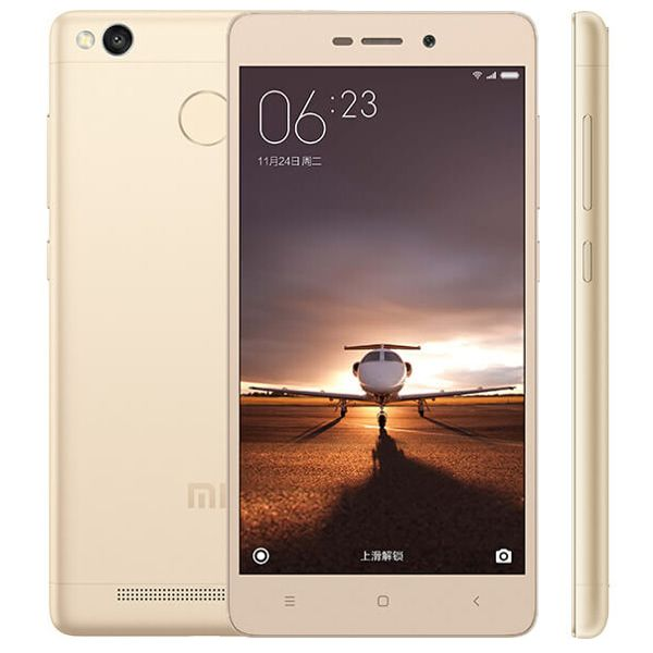 Xiaomi Redmi 3s 5 Inch Fingerprint 2GB RAM 16GB ROM Snapdragon 430 Octa-core 4G Smartphone