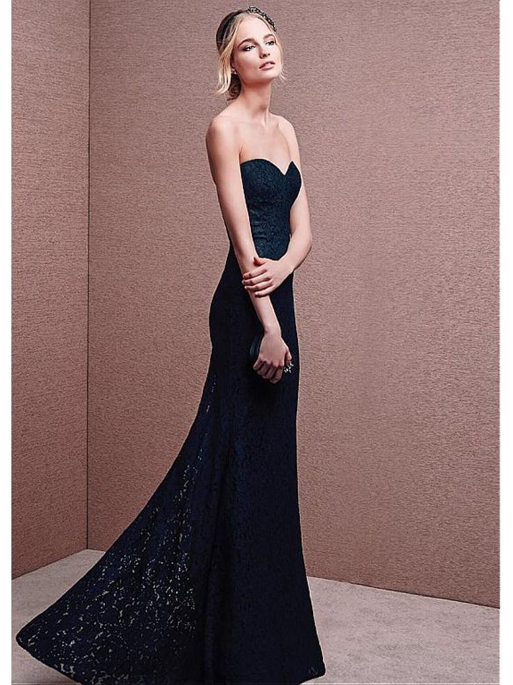 Mermaid Sweetheart Long Lace Prom Formal Evening Dresses 99501080