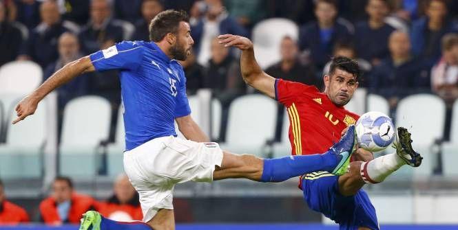 Foot - CM 2018 - L'Italie et l'Espagne dos à dos en qualifications pour le Mondial 2018 - L'Équipe.fr