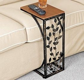 Sofa Side Table Slides up to Sofa or Chair – a Harriet... | review | Kaboodle