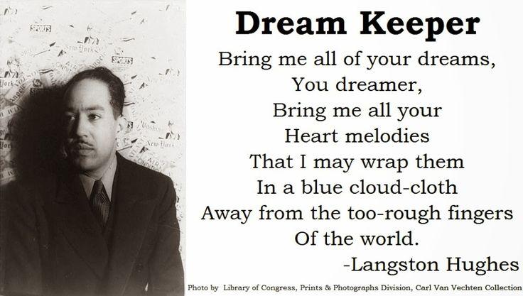 Langston Hughes   Dream Keeper