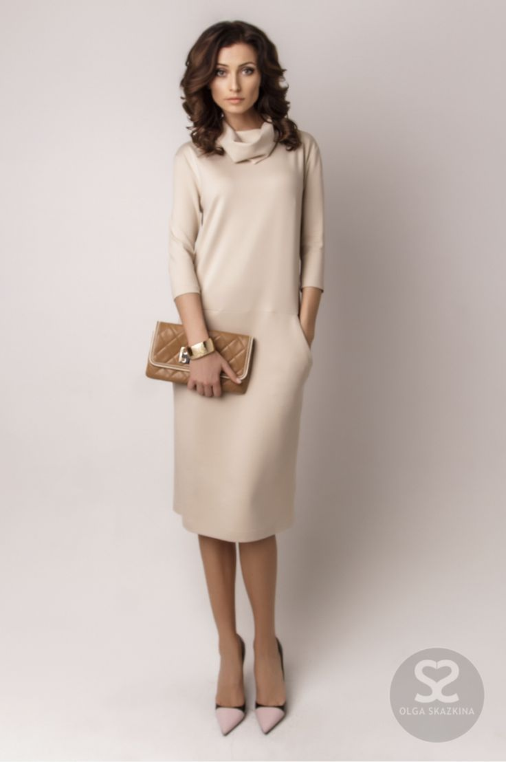 Платье свободного кроя можно купить в интернет-магазине. | Skazkina
