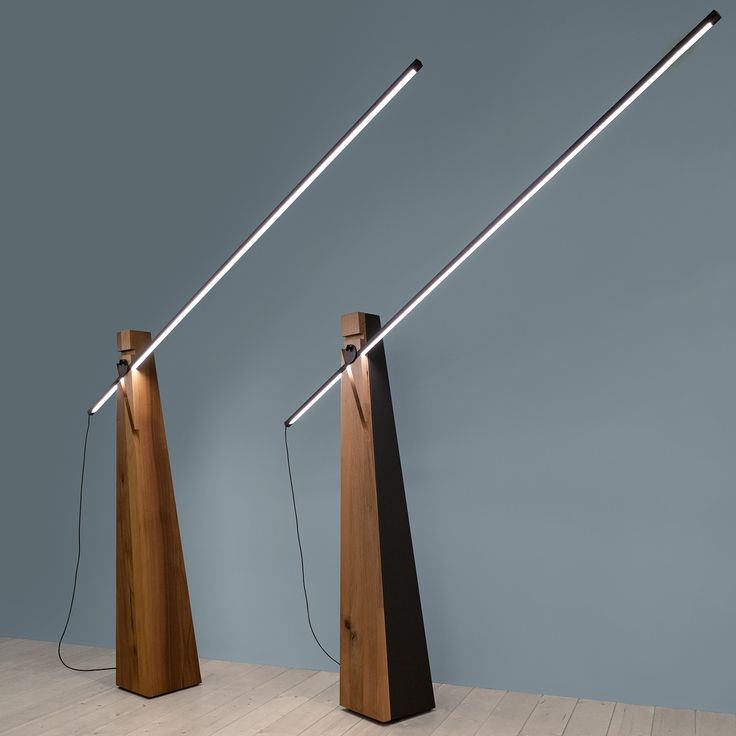Cavalchini And Made In Italy, The Epic Chivalrous Inspires The Astolfo HT  LED Floor Lamp, Melting The Ancestral And Soothing Structure Of Wood, ...