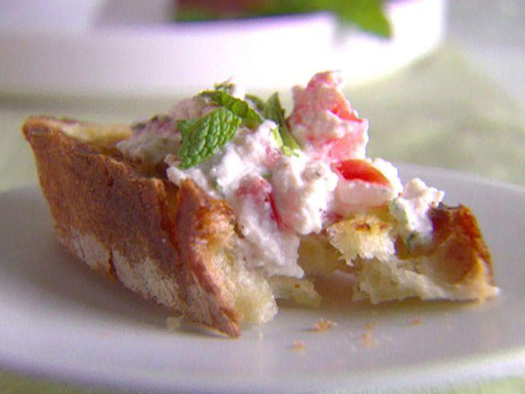 Mediterranean Bruschetta recipe from Giada De Laurentiis via Food Network