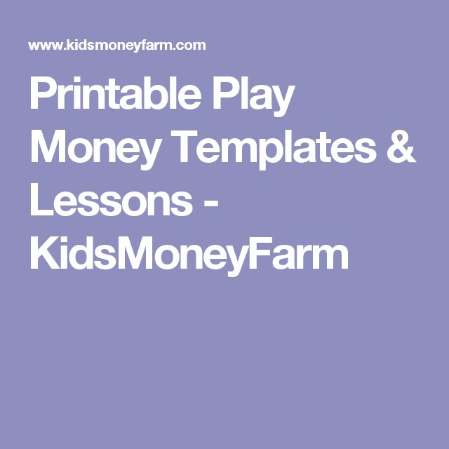 Best 25+ Printable play money ideas on Pinterest Free role - play money template