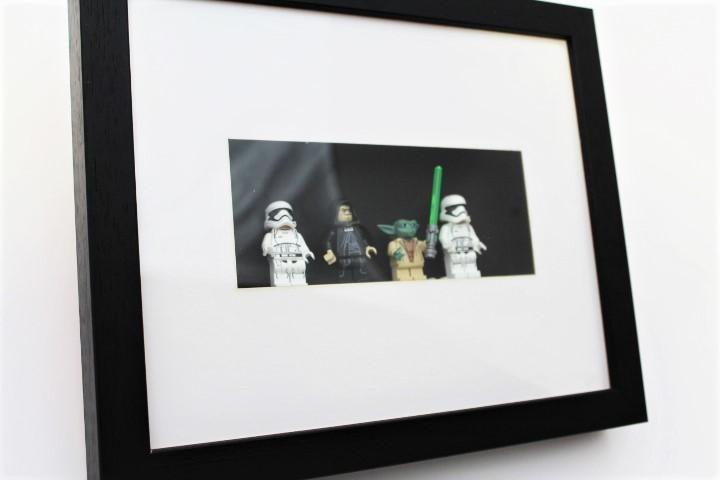 Star Wars Minifigure Frame Yoda Emperor Stormtroopers Frame Star Wars Minifigures Star Wars
