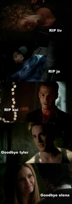 #TVD 6x22 jo`s death was the worst :( and jeez kai`s death was ace but i will miss him he was the best baddie
