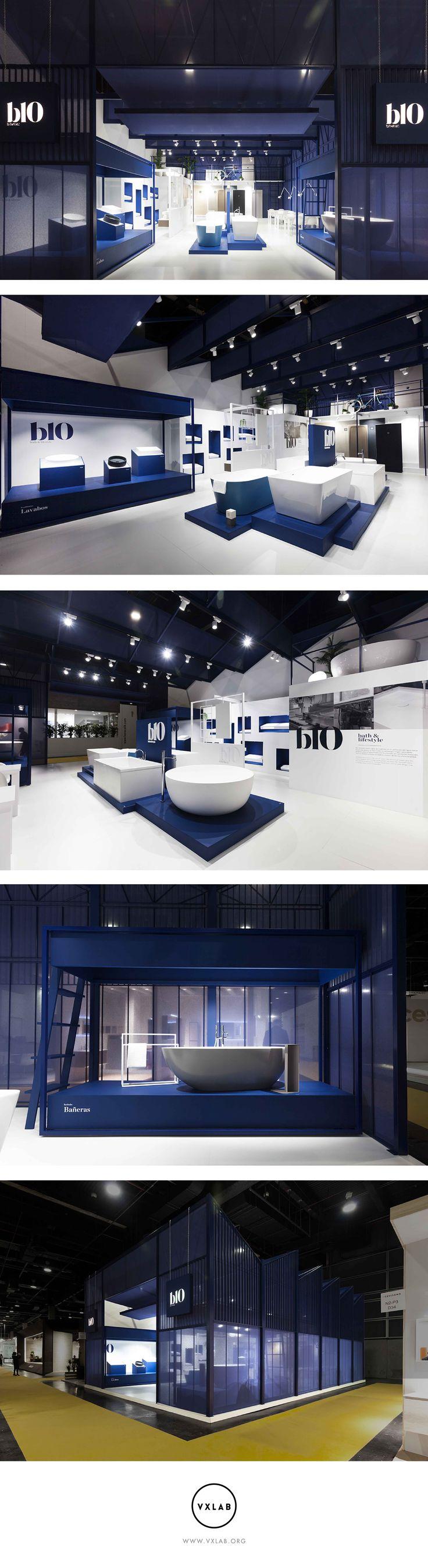 B10 - Stand Cevisama 2017 #design #designdirection #ephemeral #architecture #interiordesign #graphicdesign #stand #booth #interior #design #interiors #exhibition #branding #studio #ceramic #signage #space #cevisama