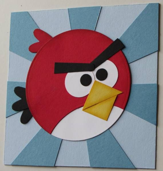 LOVE this Angry Birds card!!