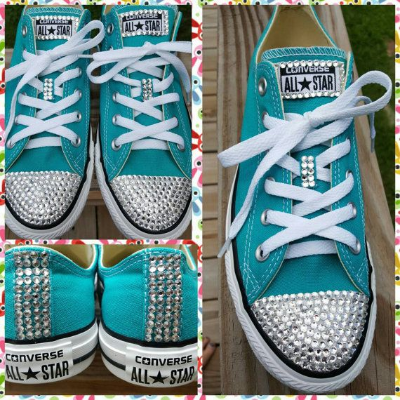 Check out this item in my Etsy shop https://www.etsy.com/listing/462908551/swarovski-crystal-stylish-bling-converse