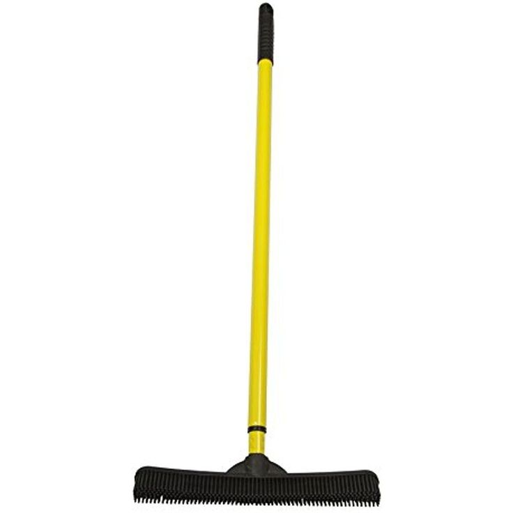 FURemover Indoor Push Brooms Broom With Squeegee Made From Natural Rubber, And #Doesnotapply