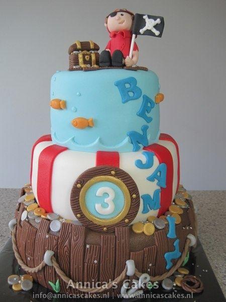 pirate cake/ piraten taart