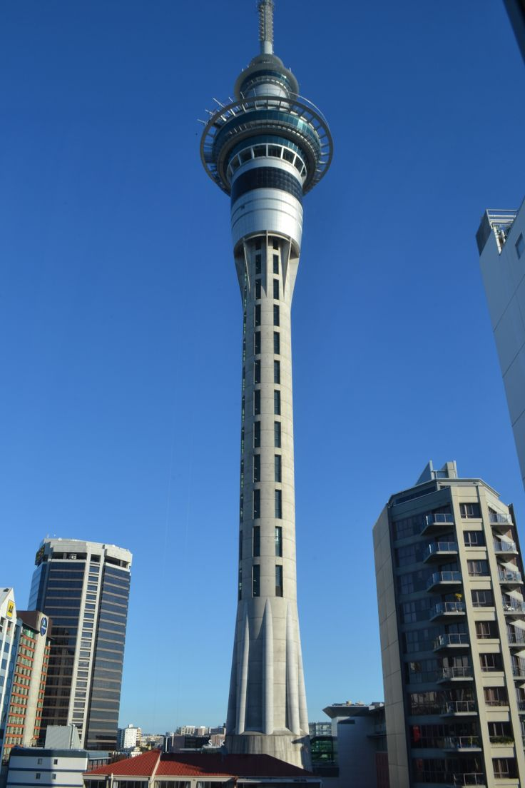 Auckland Tower 2012