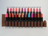 2015 caliente !! nueva barra de labios color de 24 lápiz labial rojo maquillaje de larga duración del envío libre 1pcs / lots