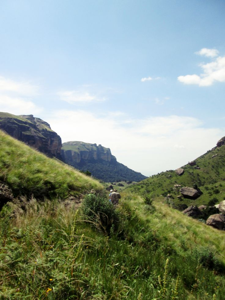 Witsieshoek Hiking Trail - Drakensberg Mountains