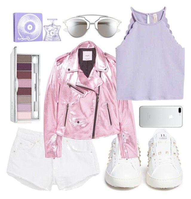 """124. Liliac & Pink"" by coeurdalenee on Polyvore featuring Valentino, Topshop, MANGO, Christian Dior, Clinique and Bond No. 9"