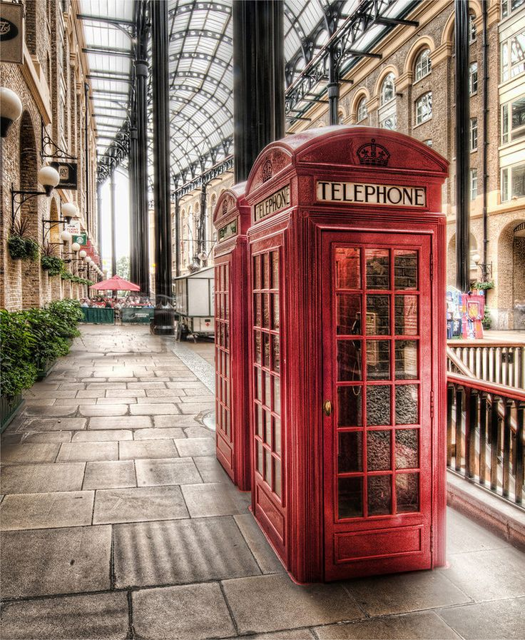 London town :) I want to call someone from one of these!