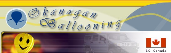 :::   Okanagan Ballooning, one of the best Kelowna attractions.   :::