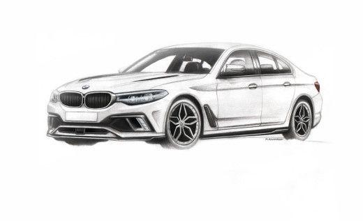 Ханьков Роман (RKhankov) - BMW-5 series(G30) - Портфолио дизайнеров - Портфолио дизайнеров - Cardesign.ru