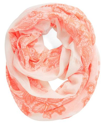 'Floral Lace' Infinity Scarf plz get me this for Christmas