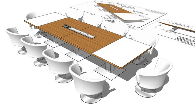Large preview of 3D Model of TABLE_TAVOLO_RIUNIONI