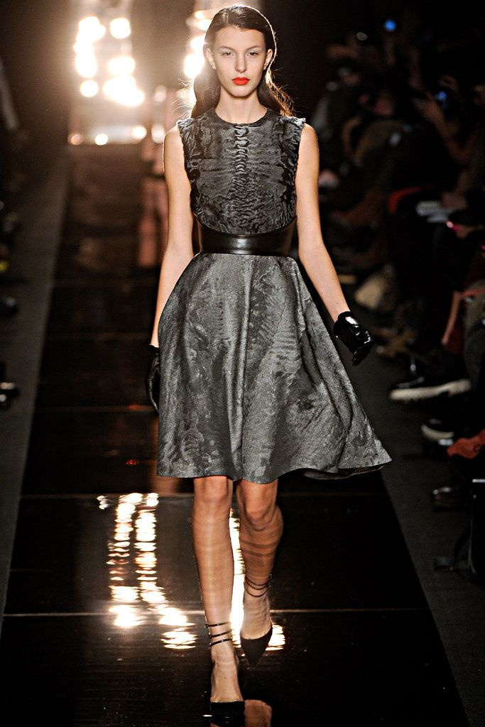 cheap flights to new york from london heathrow Monique Lhuillier Fall 2012 Ready to Wear Collection Photos   Vogue
