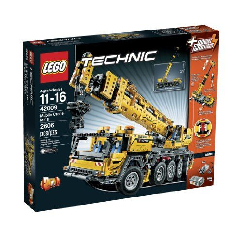 Get ready for the biggest most complex LEGO Technic model ever - the Mobile Crane MK II! Drive this 2606-piece behemoth of a model into position with the cool 8-wheel steering and rotate the superst...