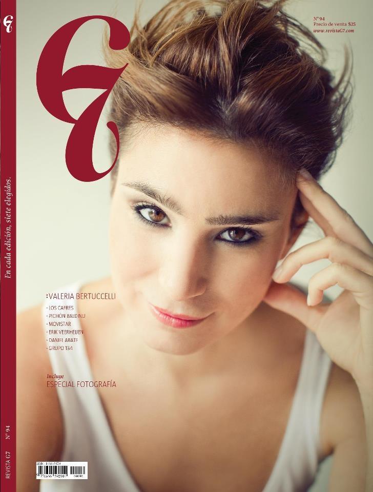 Edición #94 - Valeria Bertuccelli | Tapas Revista G7 ...