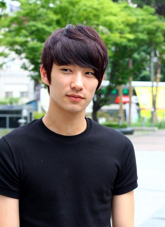 Short Korean Hairstyle for Men    Just my number. Those eyes... and those cheekbones.. sheesh!