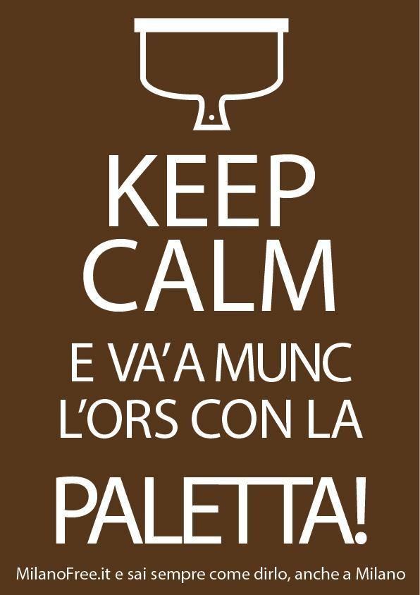 #keep #calm e vai a #mungere un #orso ! #milano #milan   http://milanofree.it/
