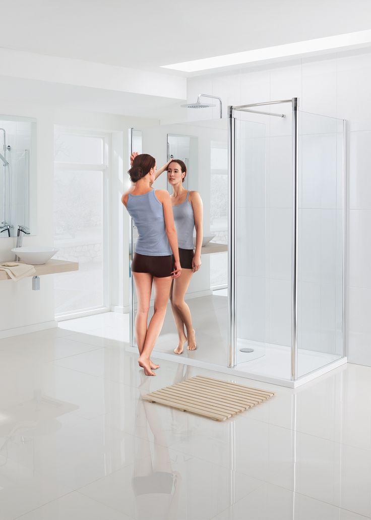 Mirror: Walk In Shower Enclosure | Lakes Bathrooms