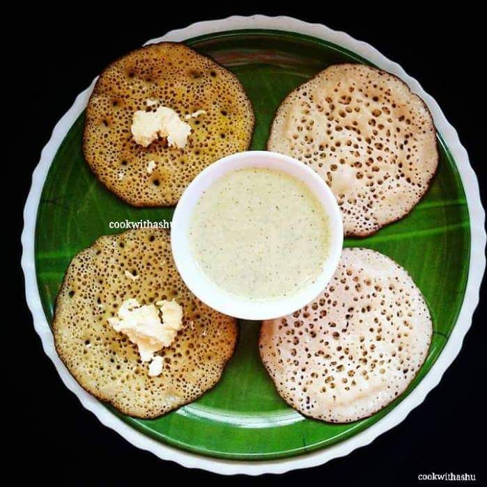 Godi anni Cheppi Surnali Maggi Ghalnu is what called in konkani Language….. Sweet and Normal Pancakes using Manglore cucumber drizzled with honey,butter and served with chutney… H…