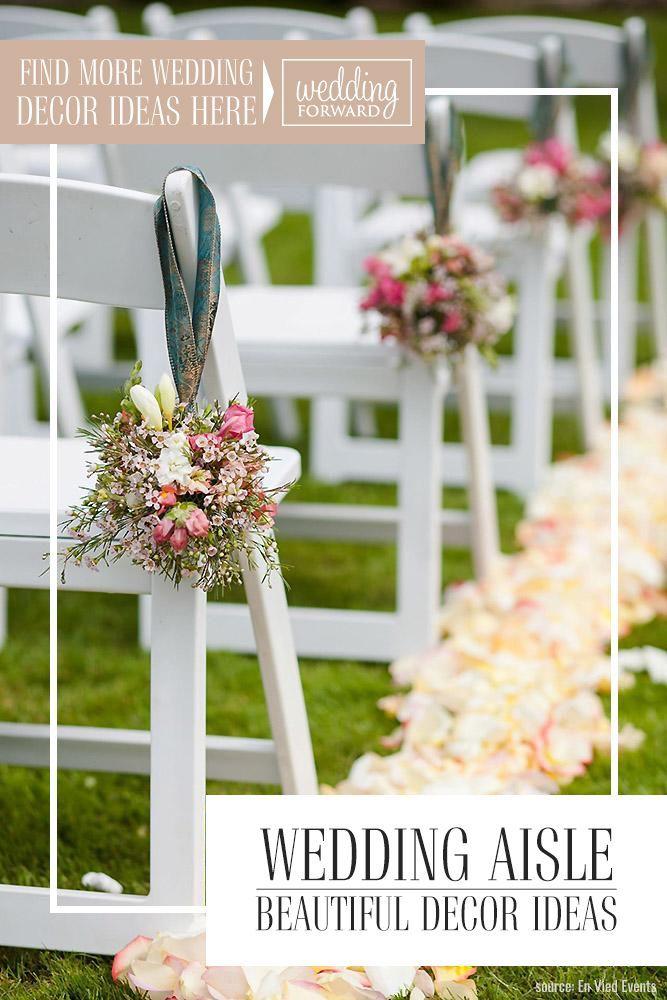 30 schöne Hochzeit Aisle Decoration Ideas so Es ist so wichtig, Aufmerksamkeit zu setzen …   – The Luckiest