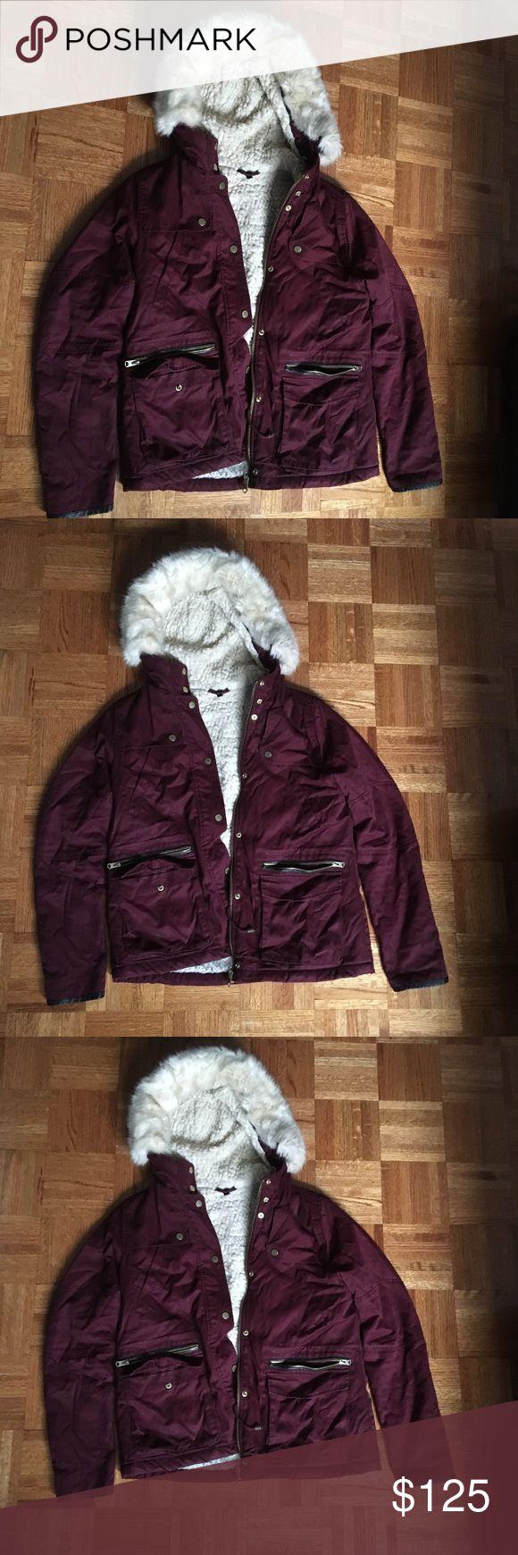 Topshop Fur Coat Its in great condition. Topshop Jackets & Coats