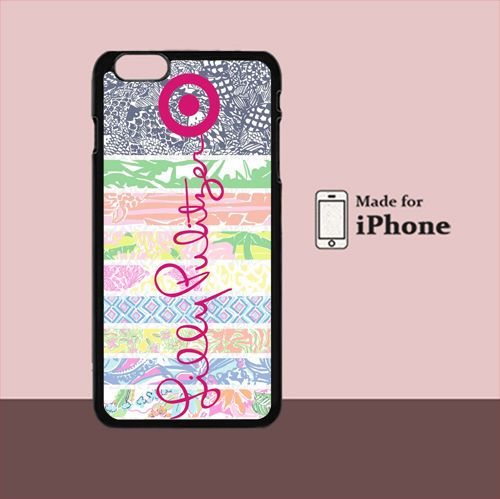 New Lilly Pulitzer Logo For iPhone 6 Plus Hard Case