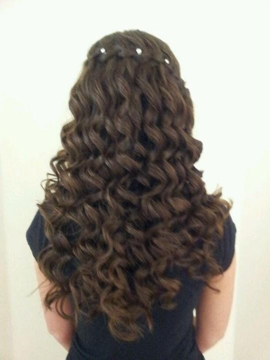 my hair for prom :) hannahstack