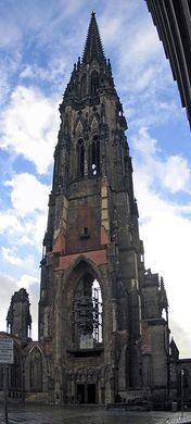 Once the tallest building in the world, this abandoned church is now a monument to the destruction of WWII