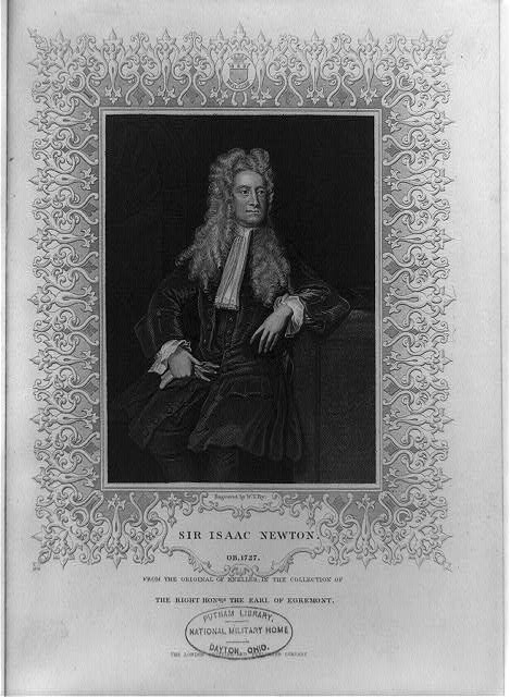 Sir Isaac Newton, ob. 1727