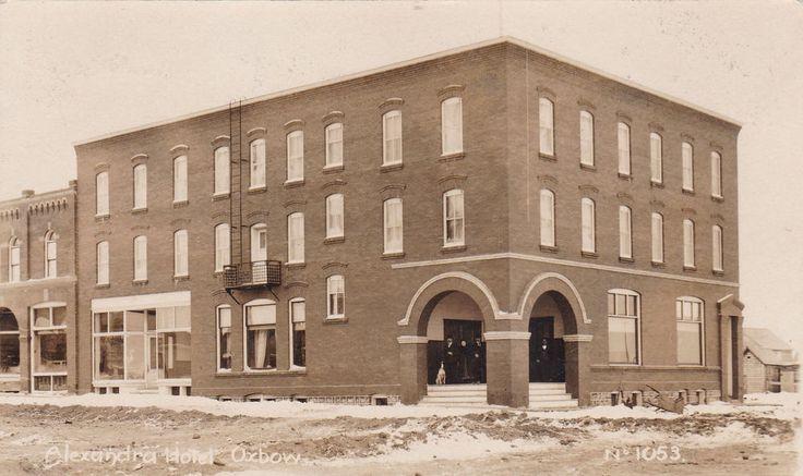 RP: Alexandria Hotel , Mn St , OXBOW , Saskatchewan , Canada , 00-10s