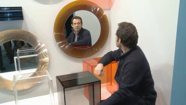 Roberto #Palomba talking about KARTELL BY LAUFEN The Bathroom Project designed for @Kartell Official and @LAUFEN Bathrooms | #bathroom #iconic #design