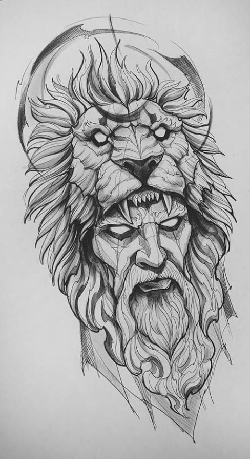 lion head tattoo sketch – drawing – - Famous Last Words Lion Sketch Tattoo, Owl Tattoo Drawings, Lion Tattoo Design, Tattoo Design Drawings, Tattoo Sketches, Drawing Sketches, Lion Head Drawing, Sleeve Tattoo Designs, Half Sleeve Tattoos Drawings