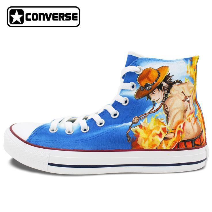 converse all star Handgemalte Schuhe Ruffy Ace