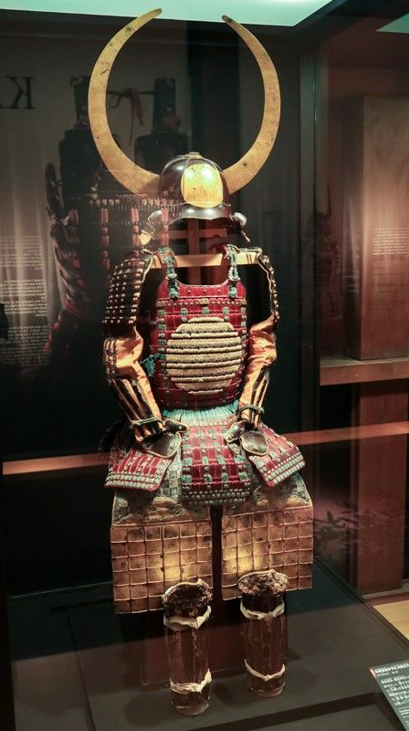 Armor in Odawara castle (formerly of the Hojos and four other warrior families) in Kanagawa Prefecture.